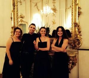 Adria Harp Quartet in Kromeriz(1)