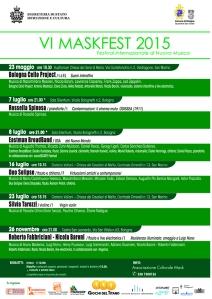 VI MASKFEST 2015